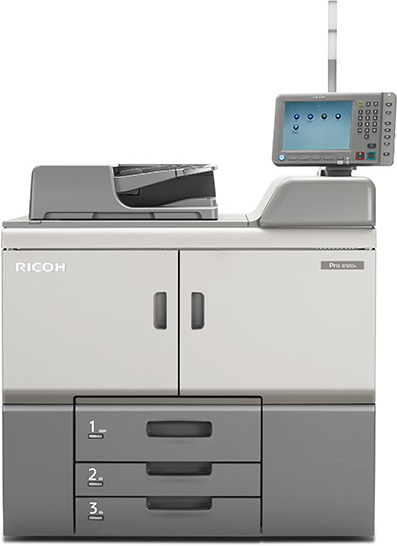 Ricoh Pro 8110S Printer PCL6 Drivers for Windows XP